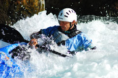 Whitewater kayak on the rivers of the Hautes Alpes